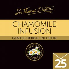 SIR THOMAS LIPTON Chamomile Envelope Tea 25's