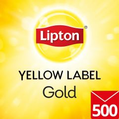 LIPTON Yellow Label Gold Envelope Tea Cup Bags 500's