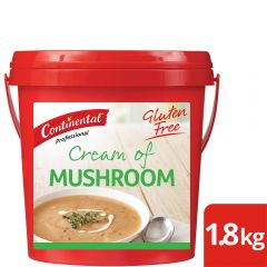 CONTINENTAL Professional Gluten Free Cream of Mushroom Soup Mix 1.8kg