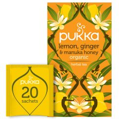 PUKKA Lemon Ginger Manuka Tea 20's