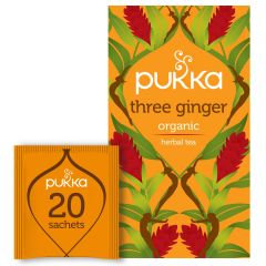 PUKKA Three Ginger Tea 20's